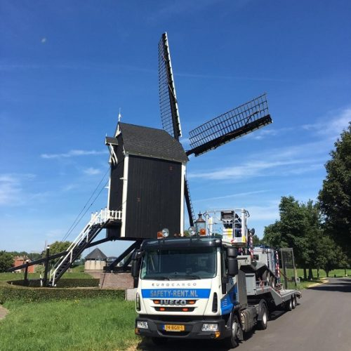 safety lift hoogwerker transport